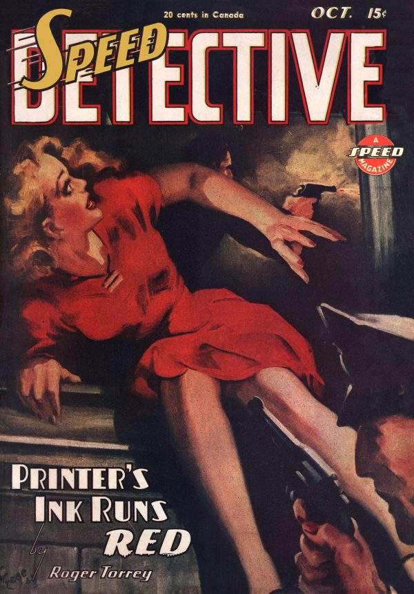 Speed Detective October 1945