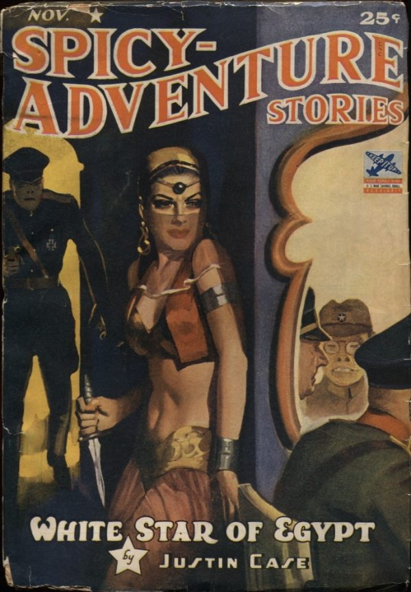 Spicy Adventure Stories 1942 November
