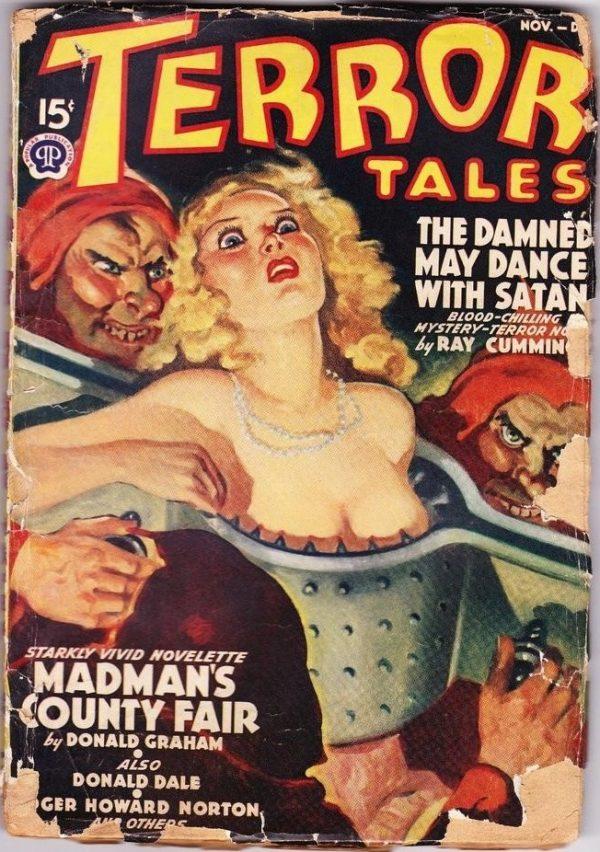 Terror Tales November – December 1939