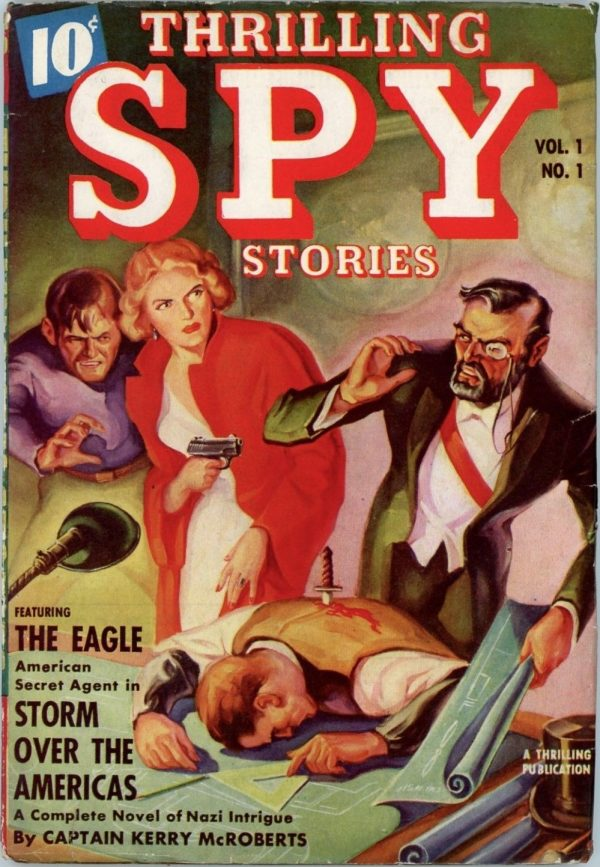 Thrilling Spy Stories, Fall 1939