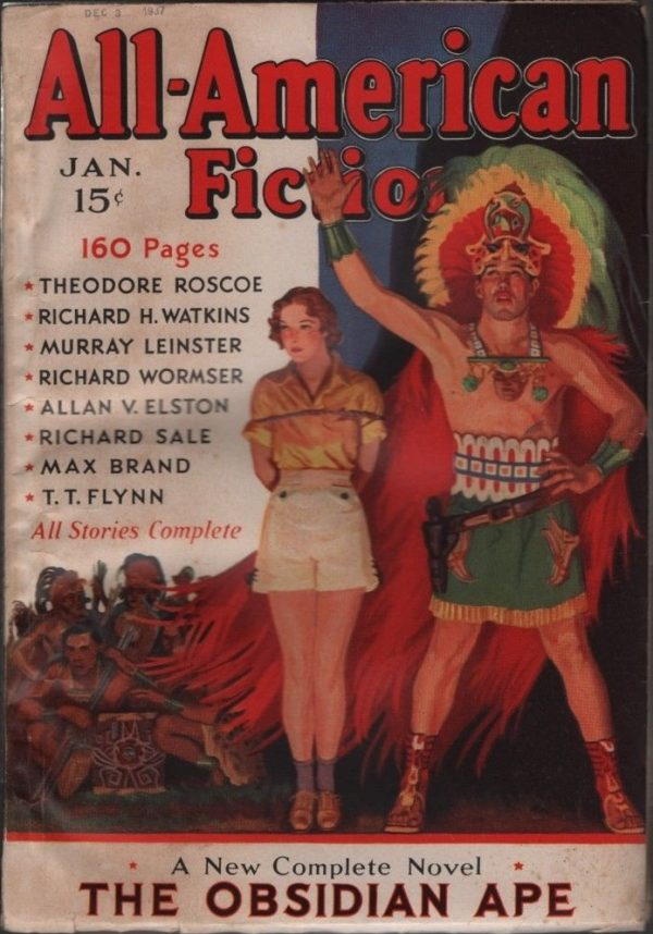 All American Fiction 1938 January