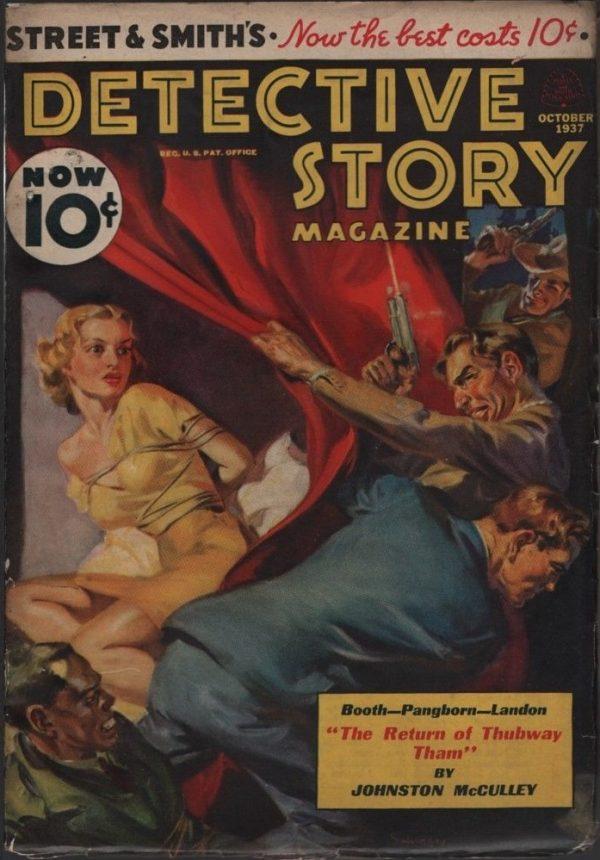 Detective Story Magazine 1937 October