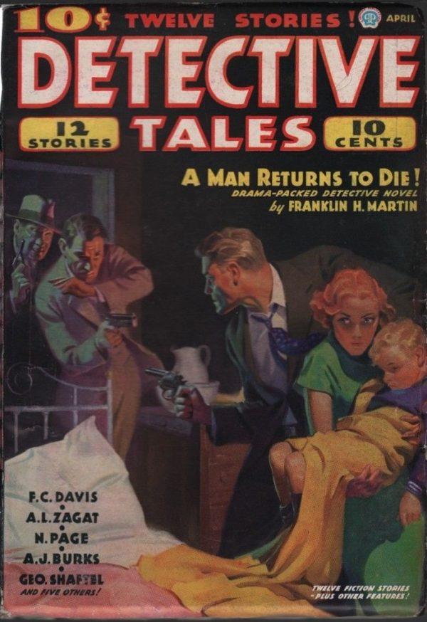 Detective Tales 1936 April