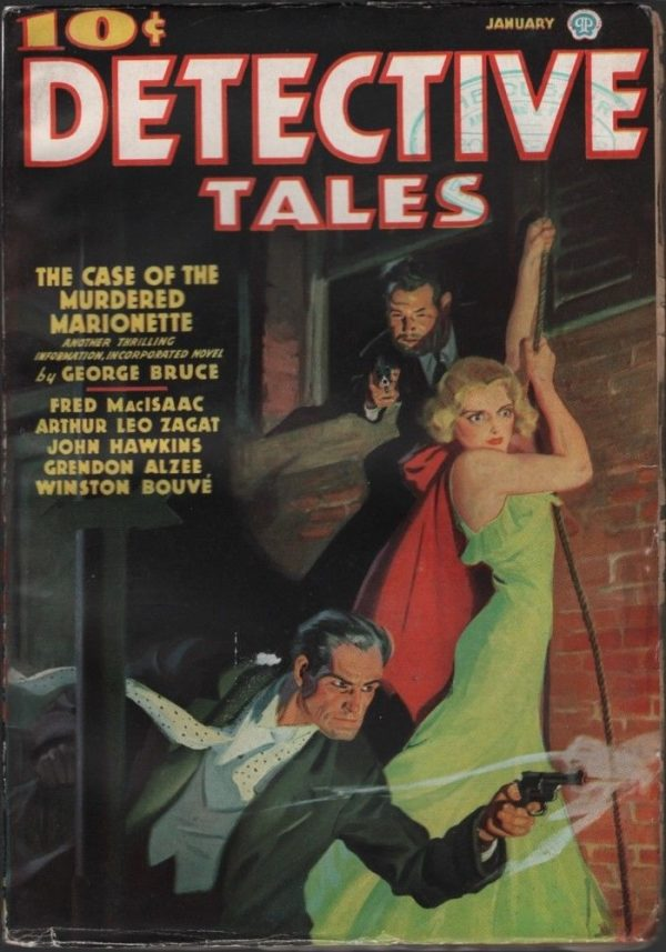 Detective Tales 1937 January