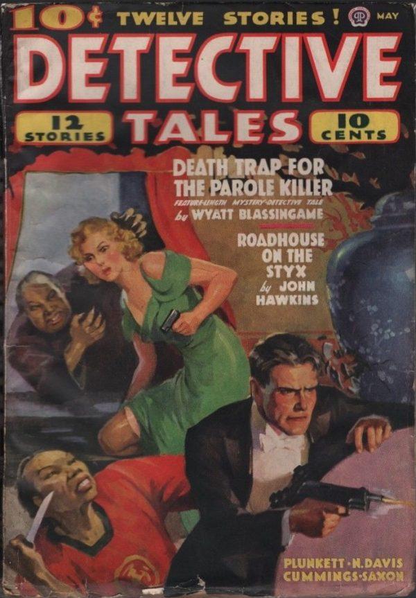 Detective Tales 1938 May