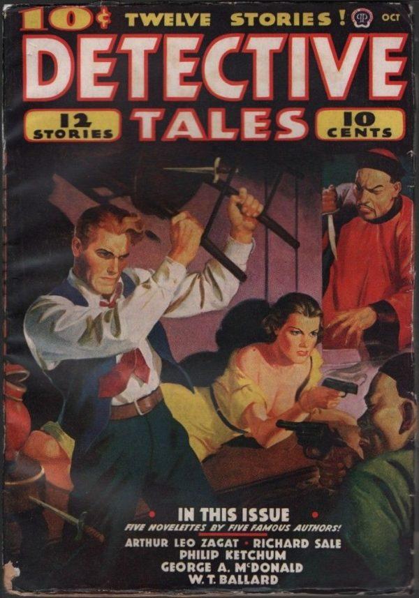 Detective Tales 1938 October