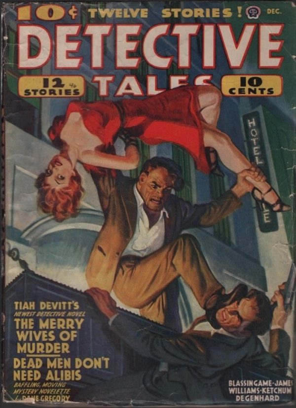 Detective Tales 1940 December