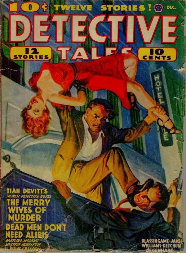 Detective Tales December 1940