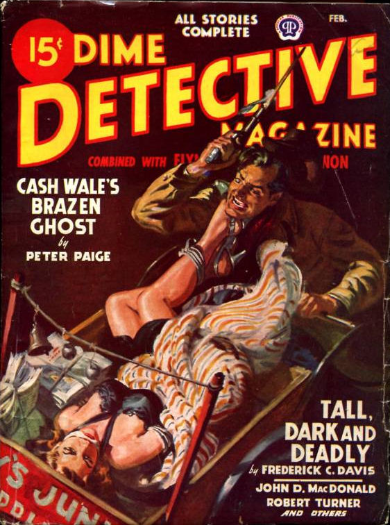 Dime Detective February 1948