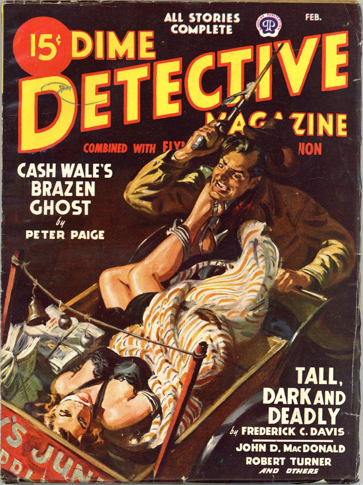 Dime Detective February 1948