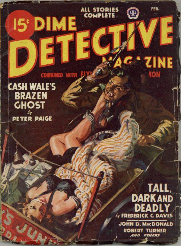 Dime Detective Magazine February 1948