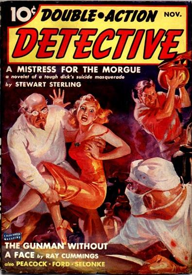 Double Action Detective November 1939