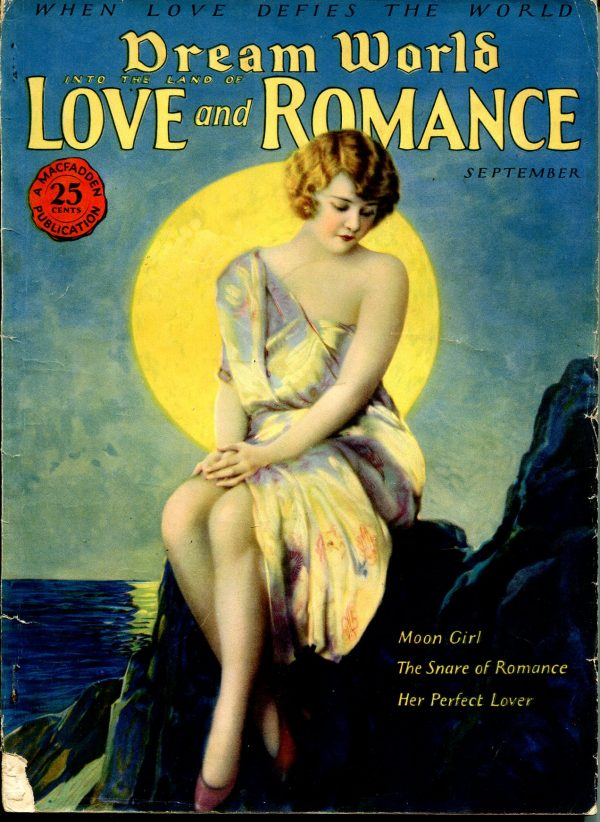 Dream World Into The Land Of Love And Romance September 1926