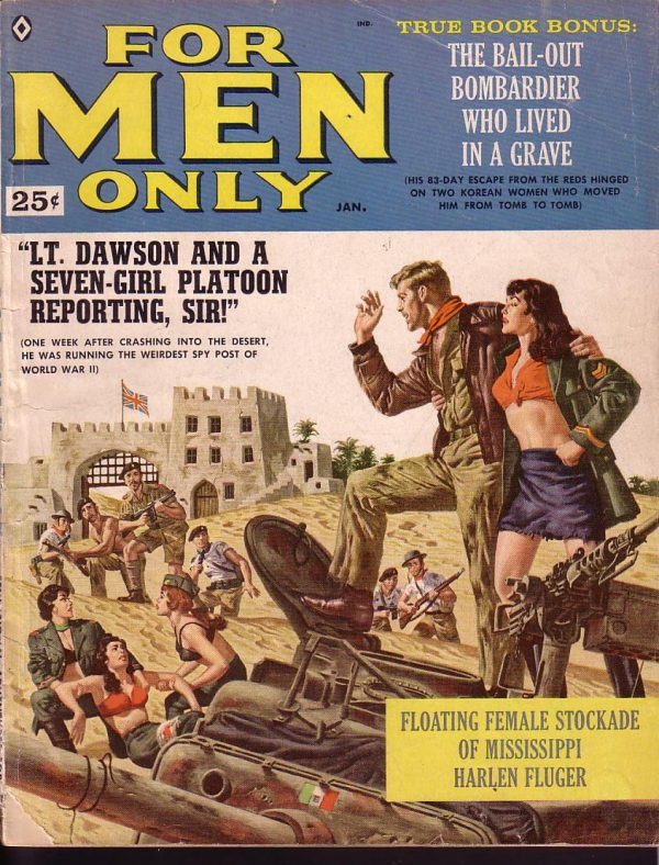 For Men Only January 1960
