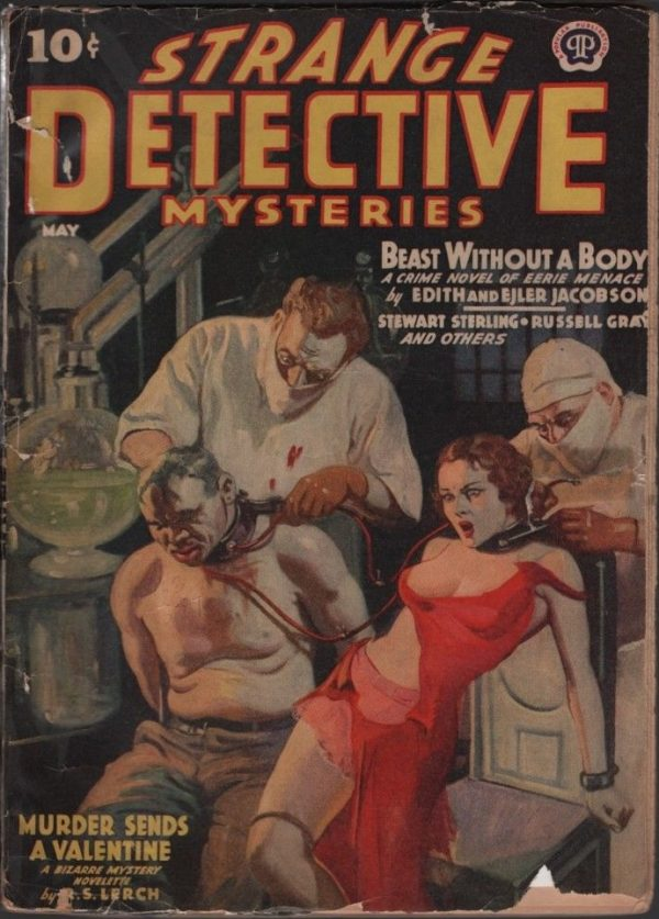 Strange Detective Mysteries1940 May