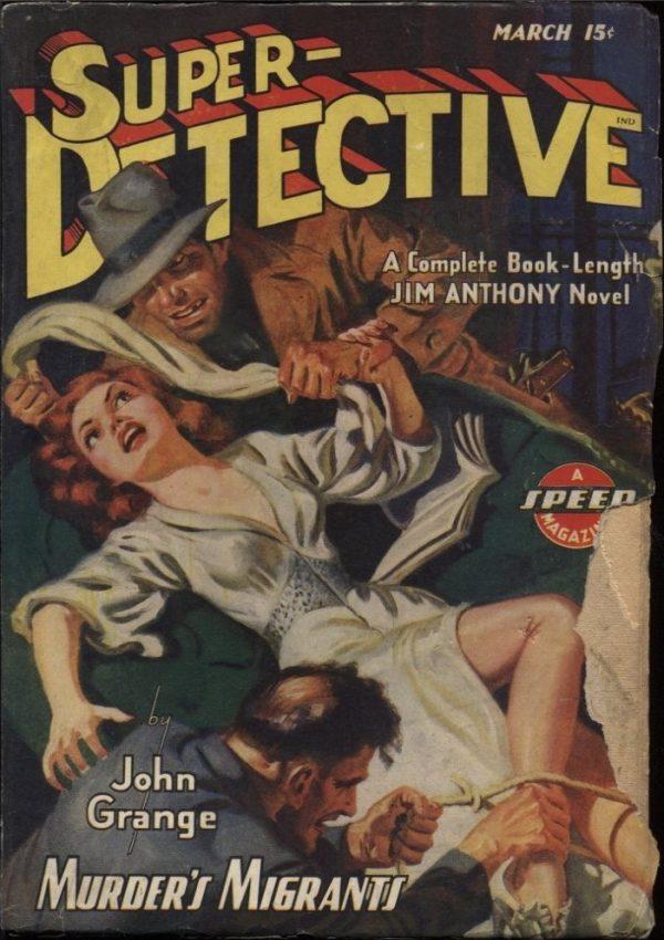 Super Detective 1943 March
