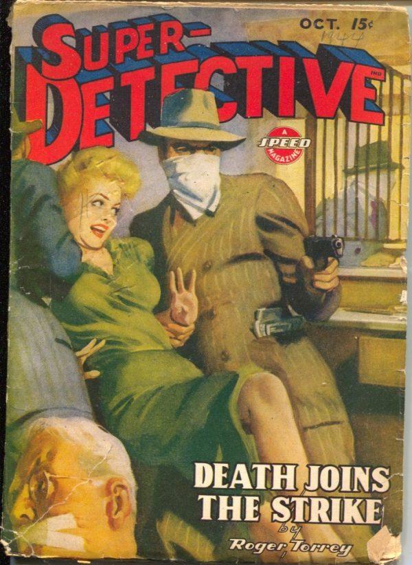 Super-Detective October 1944