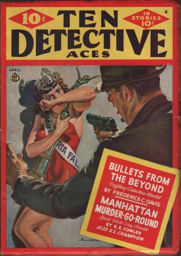 Ten Detective Aces 1942 April