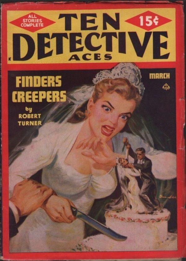 Ten Detective Aces 1949 March