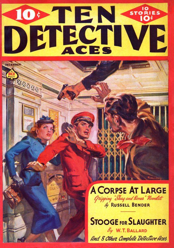 Ten Detective Aces December 1938