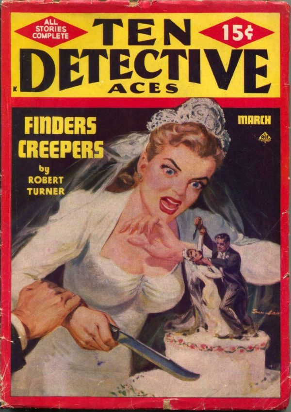 Ten Detective Aces Pulp March 1949
