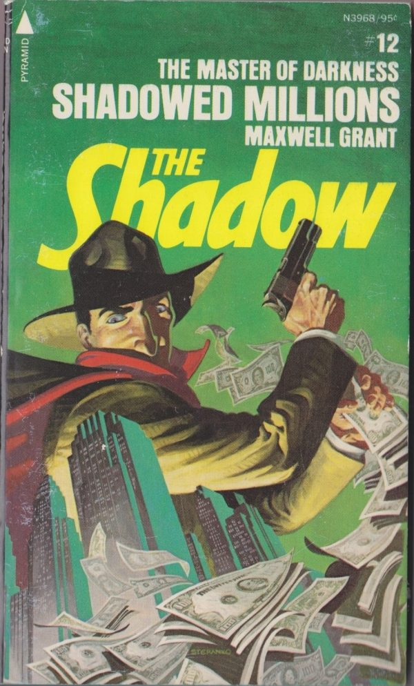 The Shadow #12 Shadowed Millions Maxwell Grant Pyramid N3968 1976