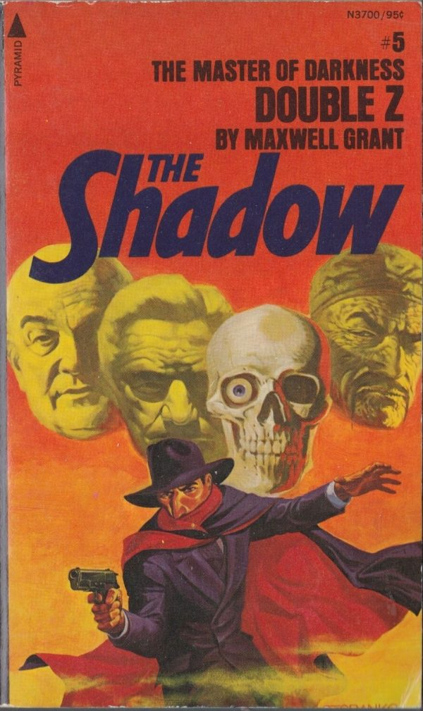 The Shadow #5 Double Z Maxwell Grant Pyramid N3700 1975