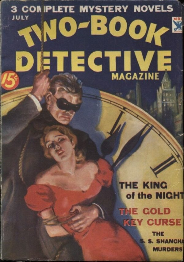 Two-Book Detective Magazine 1934 July