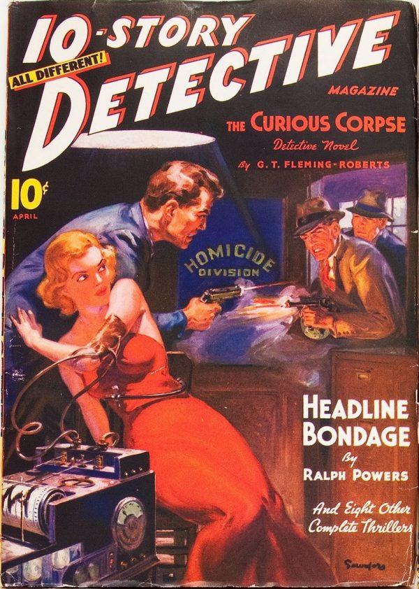 10-Story Detective April 1938