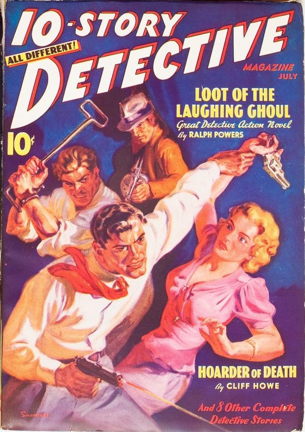 10 Story Detective July 1938