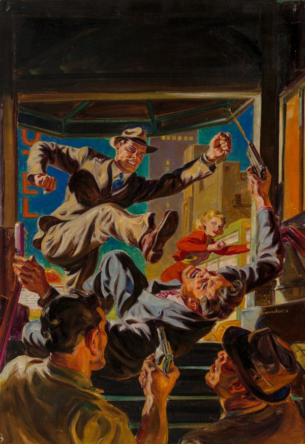 10 Story Detective cover, July 1941