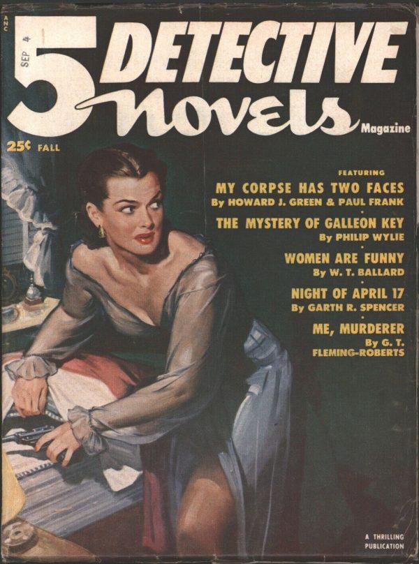 5 Detective Novels 1951 Fall