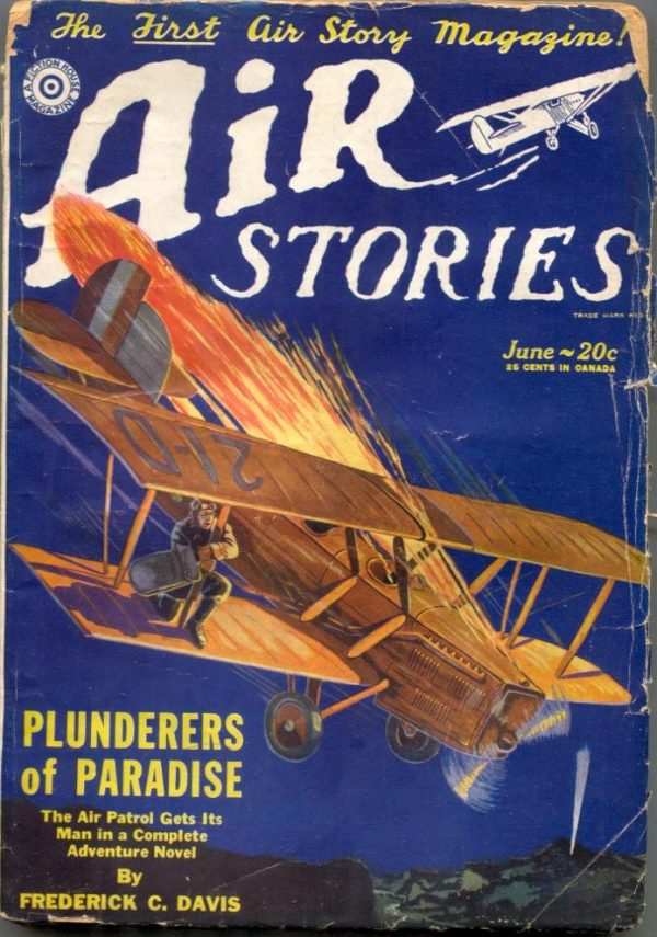 Air Stories June 1929