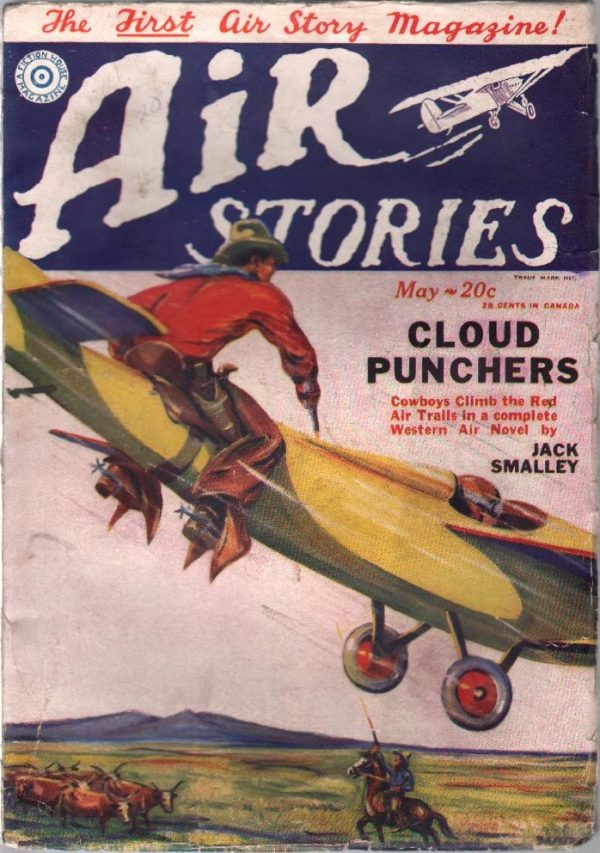 Air Stories May 1929