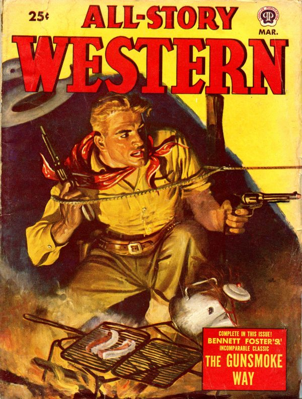 All-Story Western March 1950