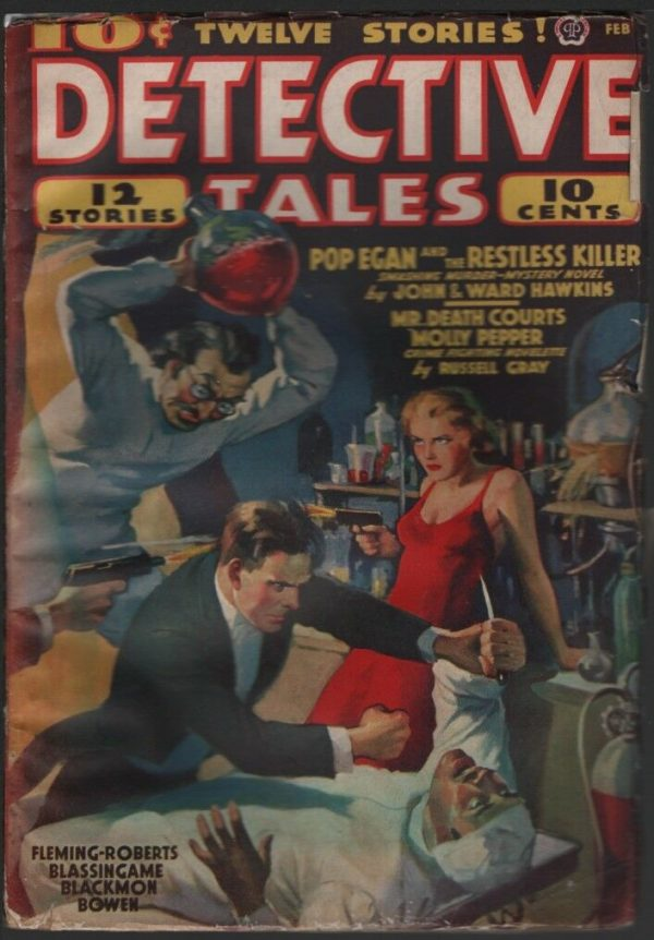 Detective Tales 1939 February
