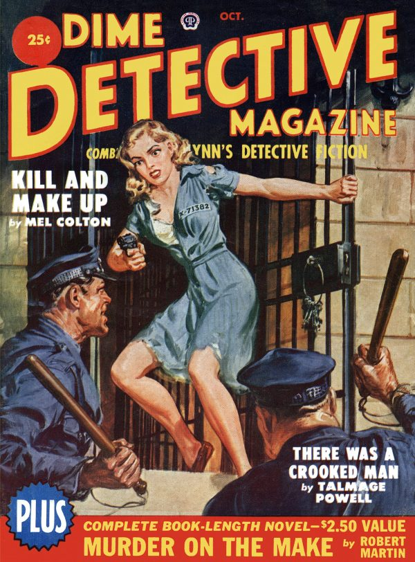 Dime Detective October 1950