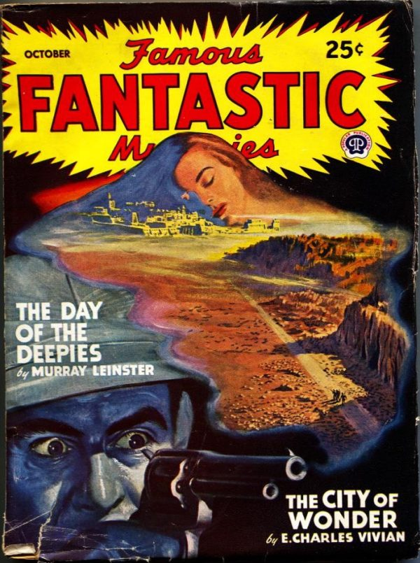 Famous Fantastic Mysteries October 1947