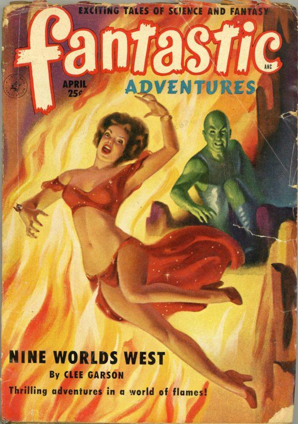 Fantastic Adventures April 1951