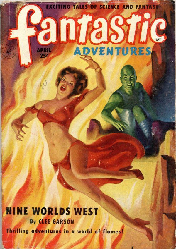 Fantastic Adventures Magazine April 1951
