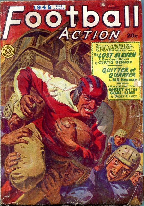 Football Action Magazine Issue Fall 1949