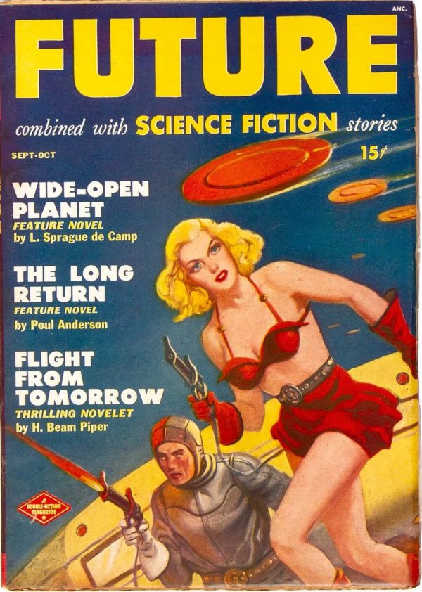 Future Combined with Science Fiction Stories, September October 1950
