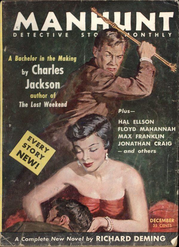 Manhunt Detective December 1954