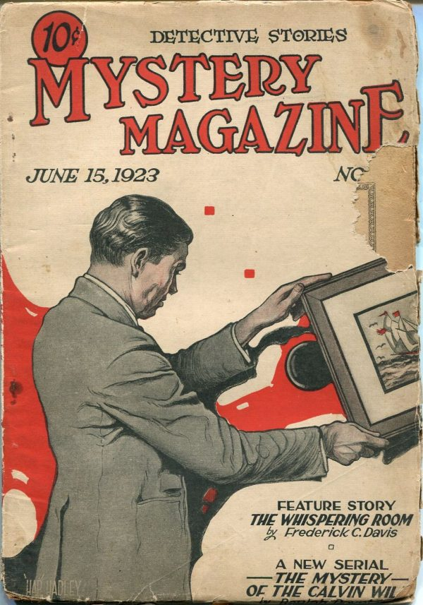 Mystery Magazine June 15 1923