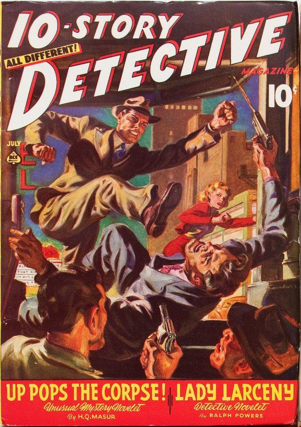 Ten Story Detective July 1941