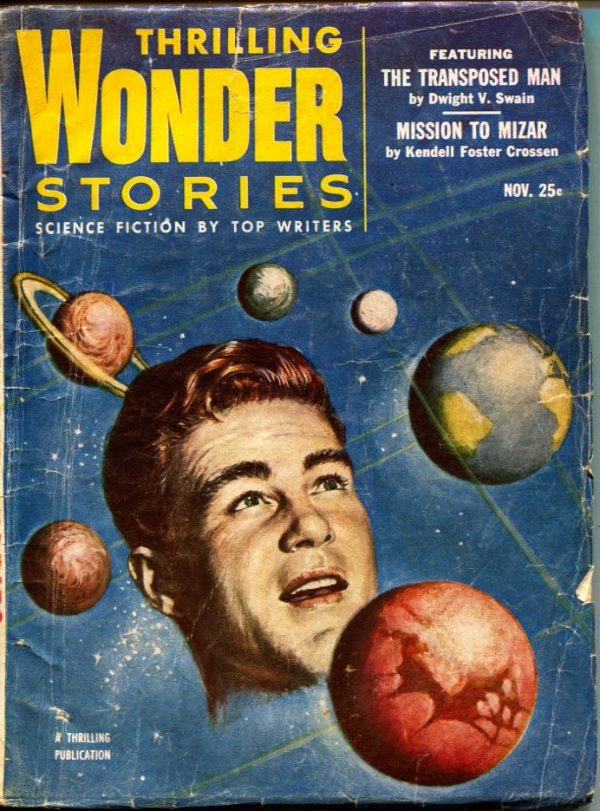 Thrilling Wonder Stories November 1953