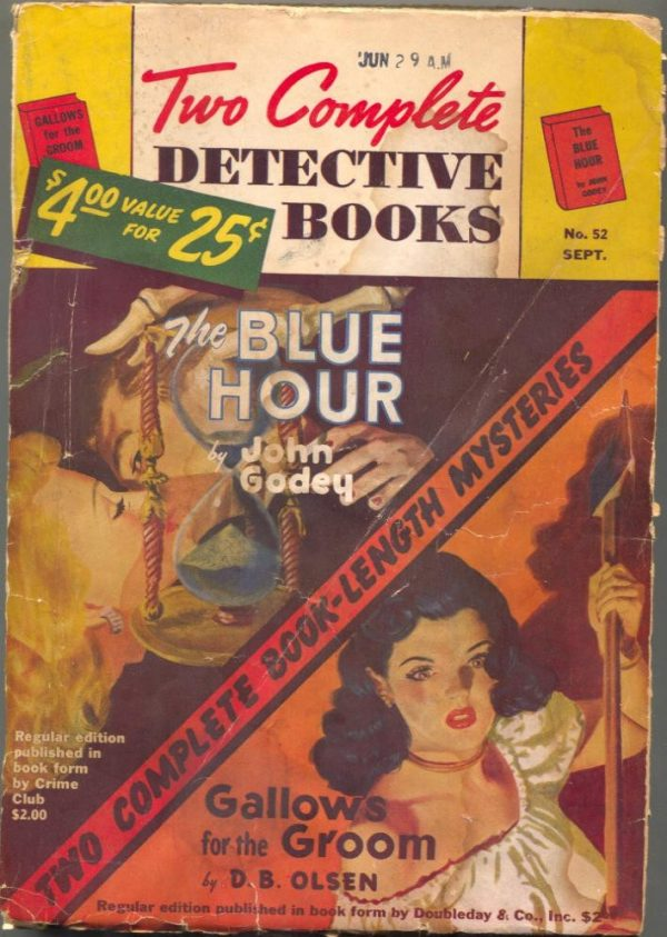 Two Complete Detective Books September 1948