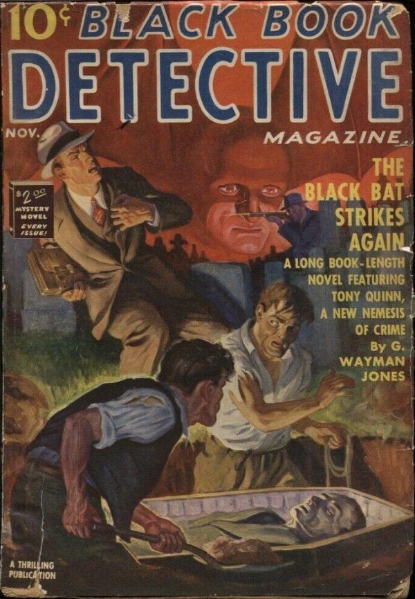 Black Book Detective 1939 November