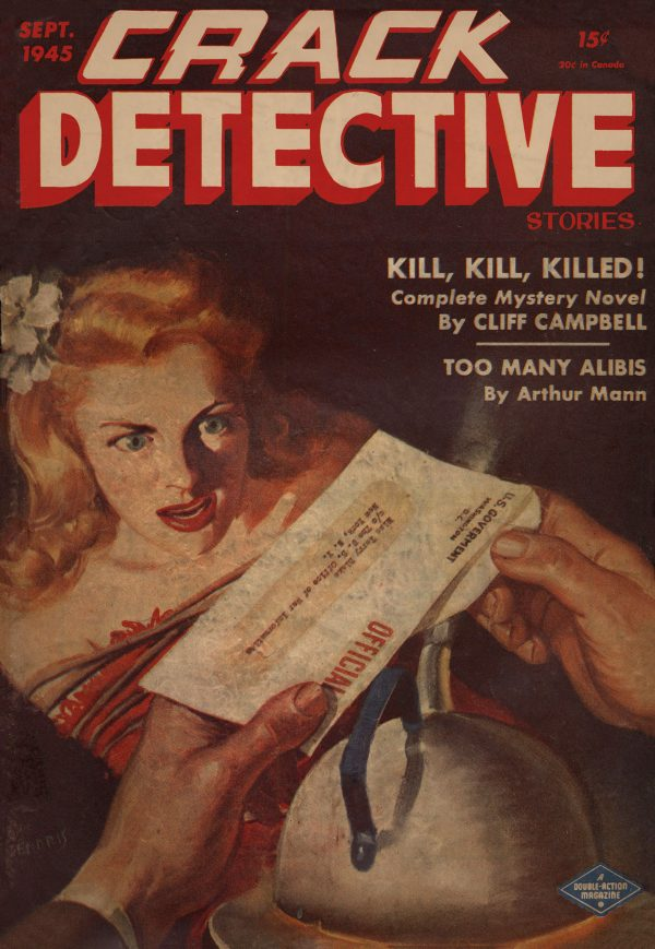 Crack Detective Stories September 1945