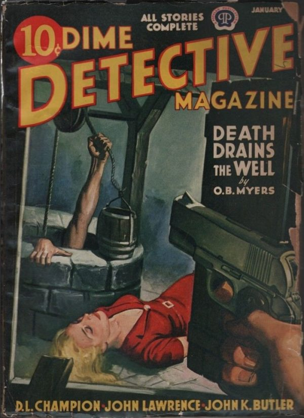 Dime Detective 1942 January